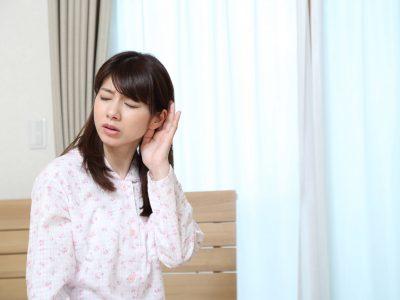 中耳炎で耳が痛い
